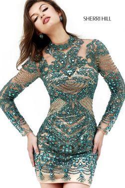 Платья Короткое платье SHERRI HILL SH032 напрокат | Аренда и прокат – Москва