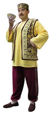 Национальные костюмы Турок золотой напрокат | Аренда и прокат – Москва