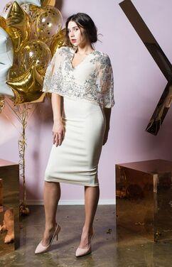 Платья Платье с пайетками и накидкой  напрокат | Аренда и прокат – Санкт-Петербург