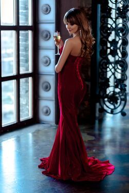 Платья Красное вечернее платье напрокат | Аренда и прокат – Санкт-Петербург
