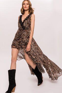 Платья Платье леопардовое NISSA напрокат | Аренда и прокат – Москва