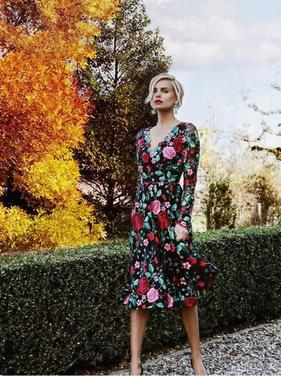 Платья Платье NISSA с вышвкой напрокат | Аренда и прокат – Москва