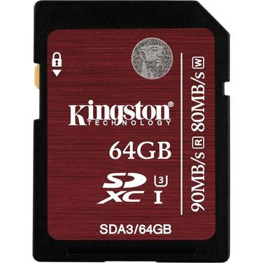 Носители данных и карты памяти Карта памяти SDXC I Kingston 90 MB/ напрокат | Аренда и прокат – Санкт-Петербург