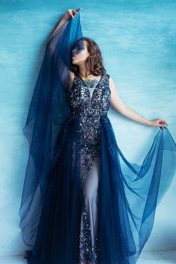 Платья Королевское вечернее платье  напрокат | Аренда и прокат – Пушкино