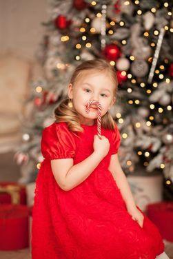 Платья и одежда для девочек Детское красное платье  напрокат   Аренда и прокат – Санкт-Петербург