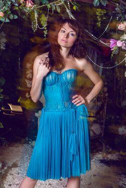 Платья Коктейльное бирюзовое платье бюстье напрокат | Аренда и прокат – Санкт-Петербург