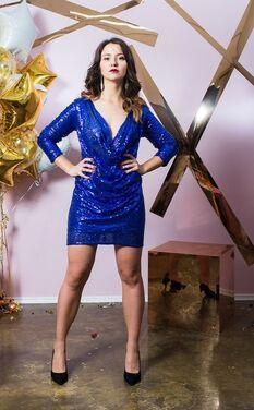 Платья Блестящее платье NastyGal напрокат | Аренда и прокат – Санкт-Петербург