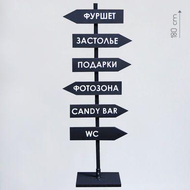 Другое Меловой указатель (большой) напрокат | Аренда и прокат – Москва