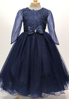 Платья и одежда для девочек Платье вечернее темно синее  напрокат | Аренда и прокат – Пермь