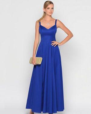Платья синее платье на бретельках напрокат | Аренда и прокат – Санкт-Петербург