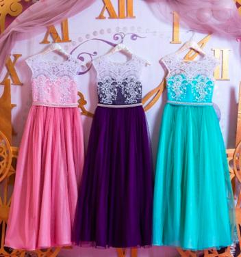 Платья и одежда для девочек Детское нарядное платье Violet напрокат   Аренда и прокат – Санкт-Петербург