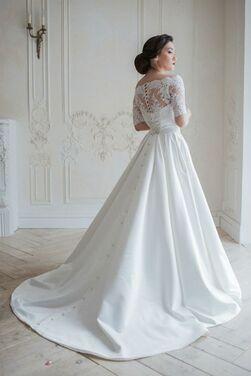 Платья Атласное свадебное платье Trinity напрокат | Аренда и прокат – Москва