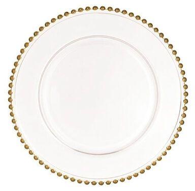 Тарелки  Тарелка Сона с золотыми бусинами напрокат | Аренда и прокат – Екатеринбург