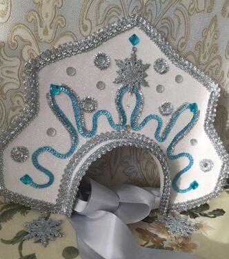 Сказочные персонажи Кокошник для маленькой снегурочки напрокат | Аренда и прокат – Пушкино