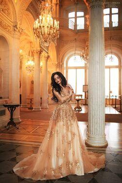 Платья Платье золотое царское  напрокат | Аренда и прокат – Москва