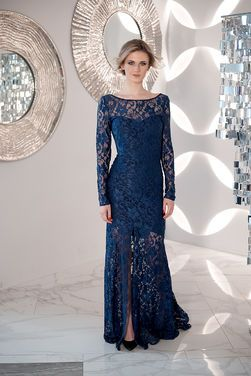 Платья Темно-синее в пол кружево напрокат | Аренда и прокат – Санкт-Петербург