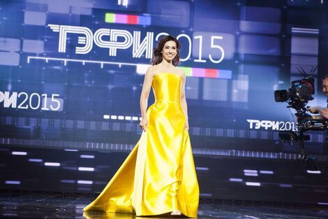 Платья Вечернее платье  с  ТЭФИ2015 напрокат | Аренда и прокат – Москва