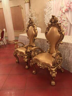 Кресла Золотые Троны  напрокат | Аренда и прокат – Москва