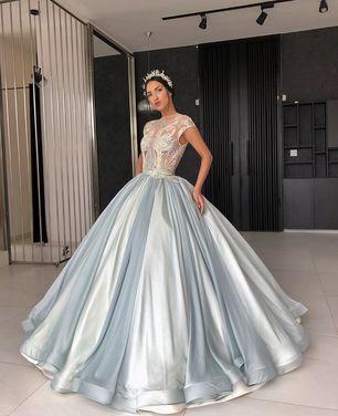 Платья Шикарное платье Lias Tublla пышное напрокат | Аренда и прокат – Санкт-Петербург