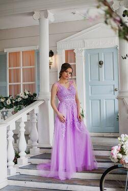 Платья Лиловое платье напрокат | Аренда и прокат – Санкт-Петербург