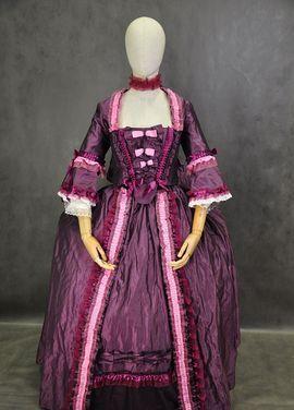 Исторические костюмы Платье 18 века со шлейфом напрокат   Аренда и прокат – Москва