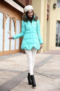 Верхняя одежда Куртка голубая бирюзовая напрокат | Аренда и прокат – Москва