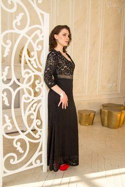 Платья Вечернее кружевное черное платье напрокат | Аренда и прокат – Санкт-Петербург