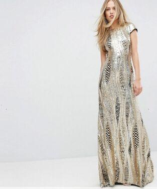 Платья Платье макси с пайетками  напрокат | Аренда и прокат – Санкт-Петербург