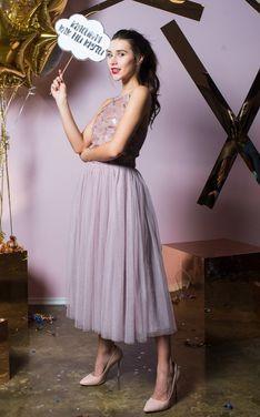 Платья Платье миди с пайетками на лифе напрокат | Аренда и прокат – Санкт-Петербург