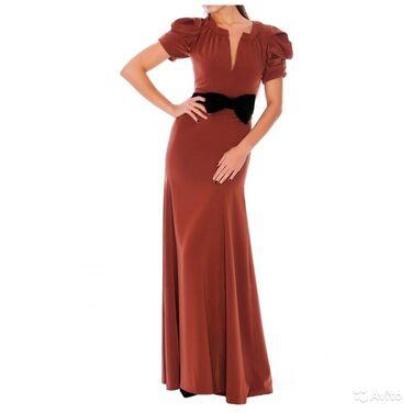 Платья Длинное коричневое платье напрокат | Аренда и прокат – Санкт-Петербург