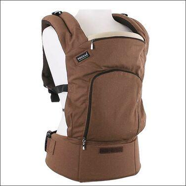 Переноски Эрго-рюкзак Pognae коричневый напрокат | Аренда и прокат – Санкт-Петербург