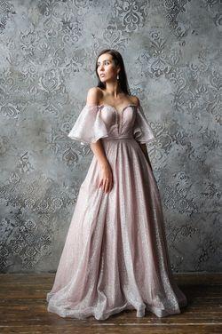 Платья Бальное платье пудрового цвета напрокат   Аренда и прокат – Москва