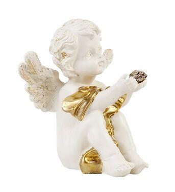Другое Ангел сидящий, с золотом напрокат | Аренда и прокат – Новосибирск