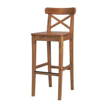 Стулья Деревянный барный стул напрокат | Аренда и прокат – Москва