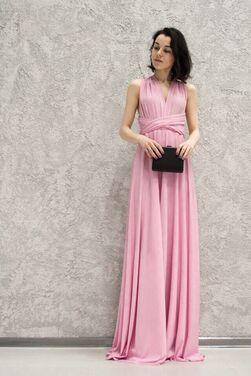 Платья Платье трансформер розового цвета напрокат | Аренда и прокат – Москва