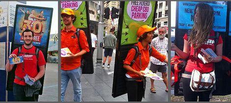 Спецэффекты Рекламные рюкзаки с  LED подсветкой напрокат | Аренда и прокат – Москва