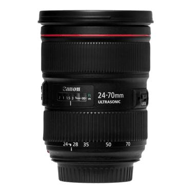 Фотообъективы Canon EF 24-70mm f/2.8L II USM напрокат | Аренда и прокат – Санкт-Петербург