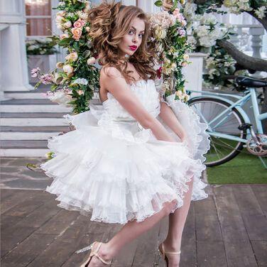 Платья свадебное короткое платье Лолита напрокат | Аренда и прокат – Санкт-Петербург