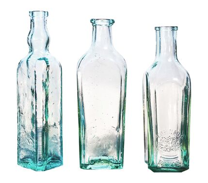 Банки и бутылки Набор из 3 бутылей «Арден» голубого напрокат | Аренда и прокат – Санкт-Петербург