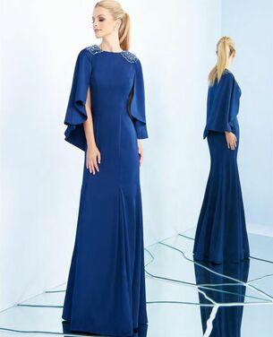 Платья Синее вечернее платье Mac Duggal напрокат | Аренда и прокат – Москва
