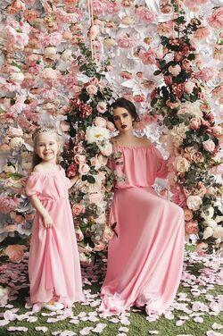 Платья Комплект для мамы и дочери напрокат | Аренда и прокат – Санкт-Петербург