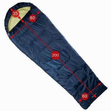 Спальные мешки QUECHUA S10 XL комфорт +9 (235 см) напрокат | Аренда и прокат – Москва