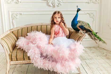 Платья и одежда для девочек Пышное платье LITTLE QUEEN напрокат | Аренда и прокат – Москва