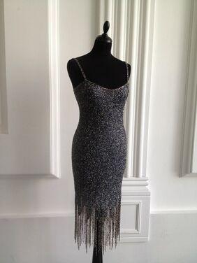 Платья Великолепное платье дымчатого цвета напрокат | Аренда и прокат – Москва