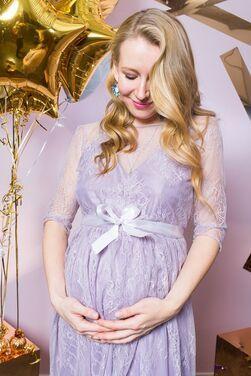 Платья Фиолетовое платье для беременной напрокат | Аренда и прокат – Санкт-Петербург