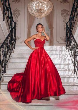 Платья Вечернее платье SHERRI HILL SH089 напрокат | Аренда и прокат – Москва