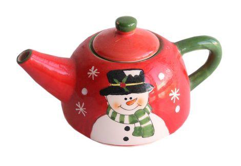 Другое  Чайник «Рождество» напрокат | Аренда и прокат – Новосибирск