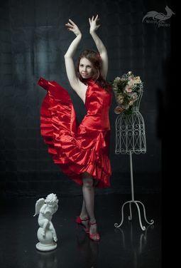 Танцевальные костюмы Испанское платье напрокат   Аренда и прокат – Москва