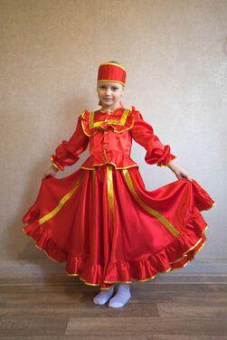Национальные Казачий костюм для девочки напрокат | Аренда и прокат – Санкт-Петербург