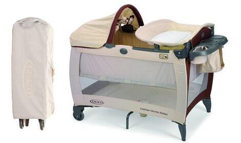 Кроватки и манежи Манеж-кровать Graco напрокат | Аренда и прокат – Москва